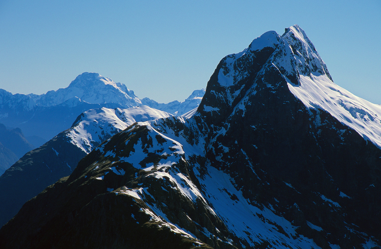 Mount Tutoko and Mount Elliot