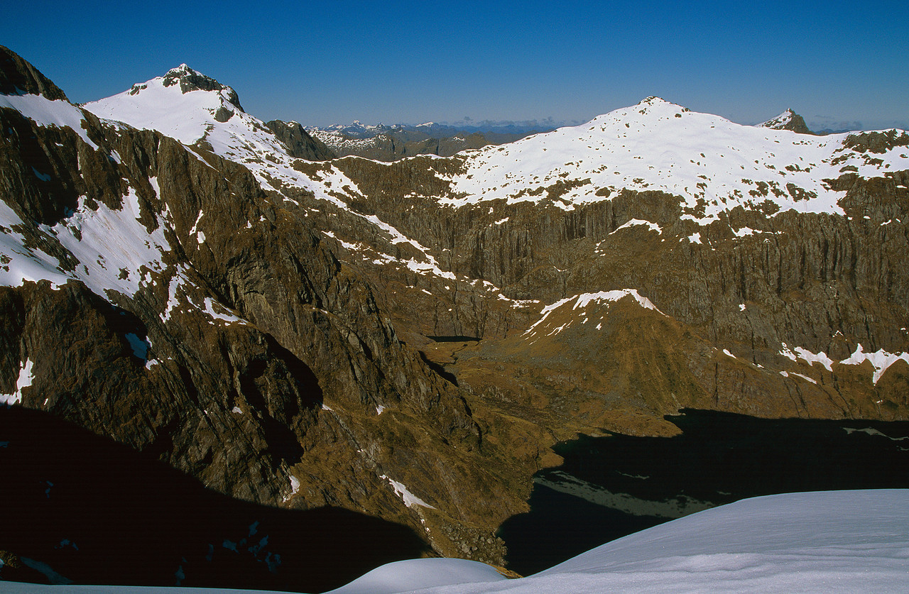 Barrier Peak and Couloir Peak
