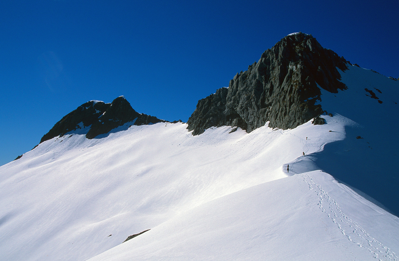 Mount Hart and Aiguille Rouge