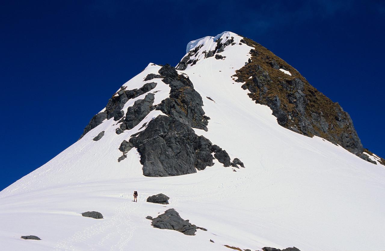 The summit of Mount Hart