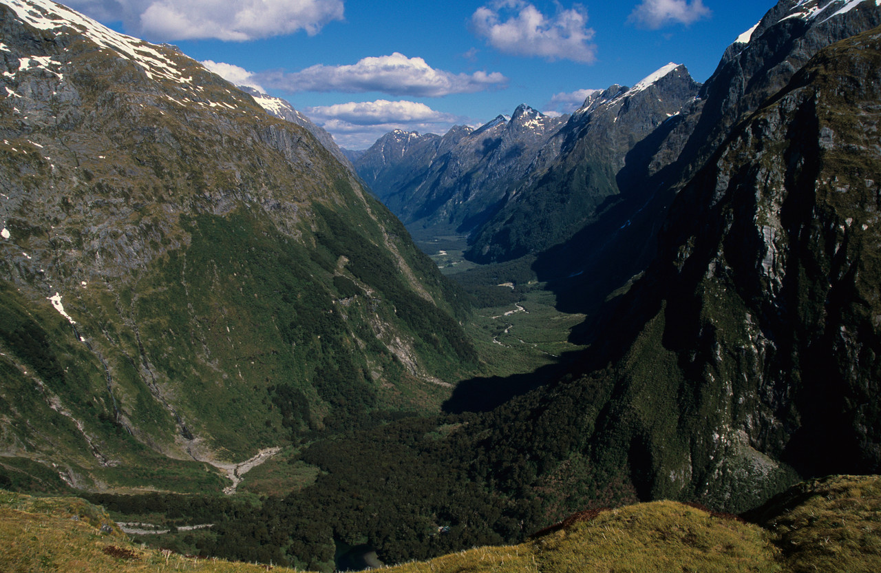 The Castle River from MacKinnon Pass