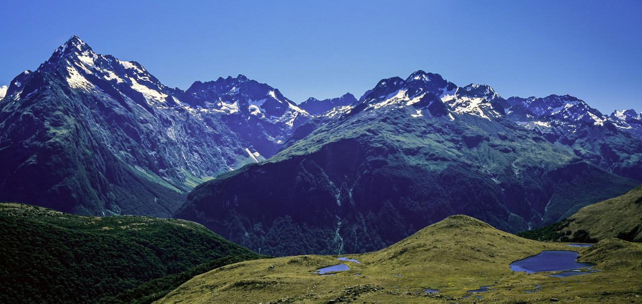 Darran Mountains panorama