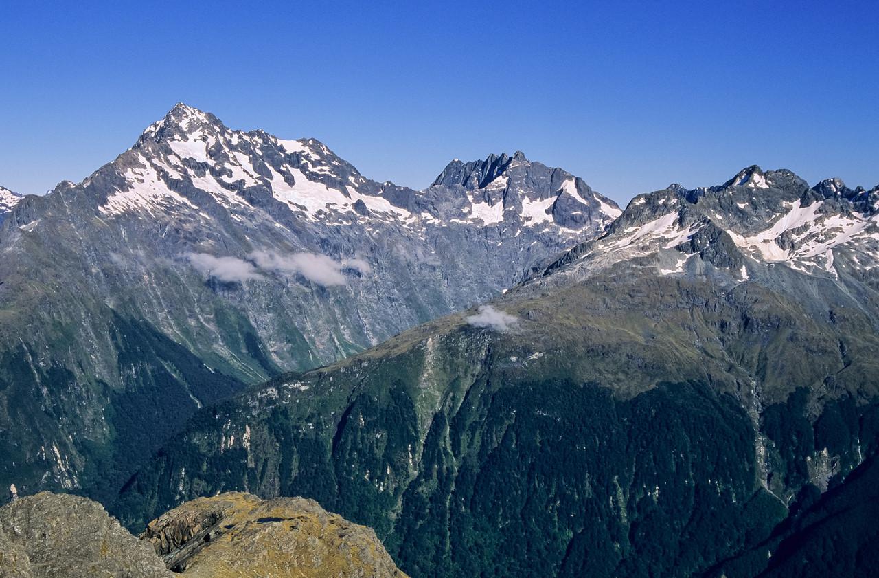 Mount Christina, Mount Crosscut and Mount Lyttle