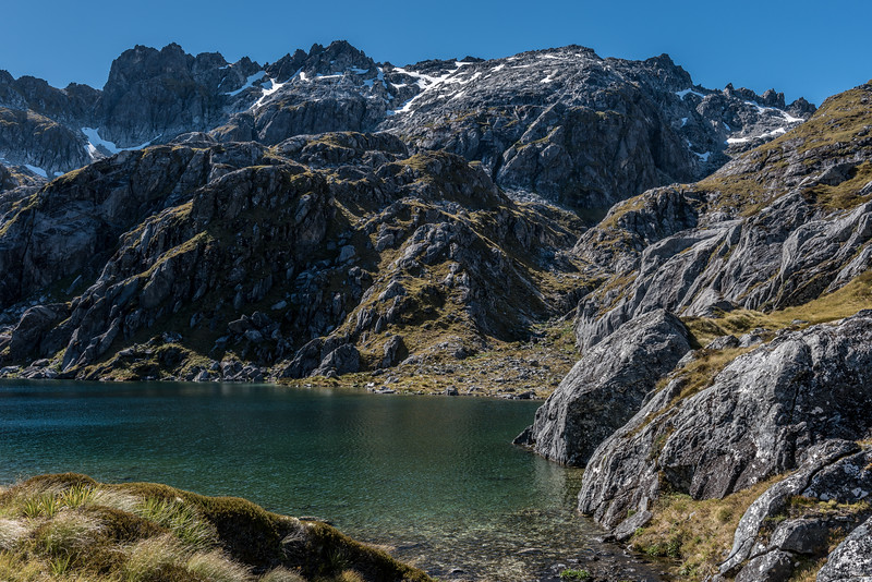 Pt 1720m, highest peak in the Kepler Mountains