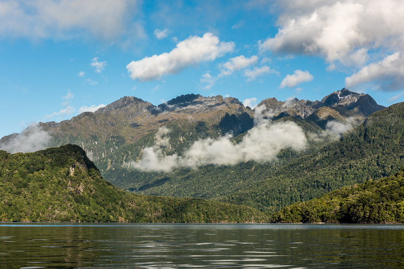 Cathedral Peaks, Lake Manapouri