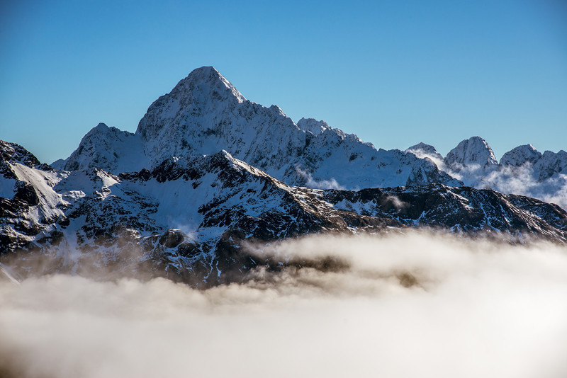 Mt Christina, Mt Crosscut, Marian Peak, Sabre Peak, Adelaide Peak