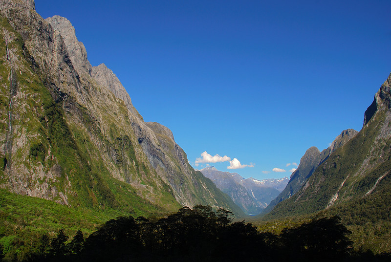 The same view down Sinbad Gully - after some serious fly swatting