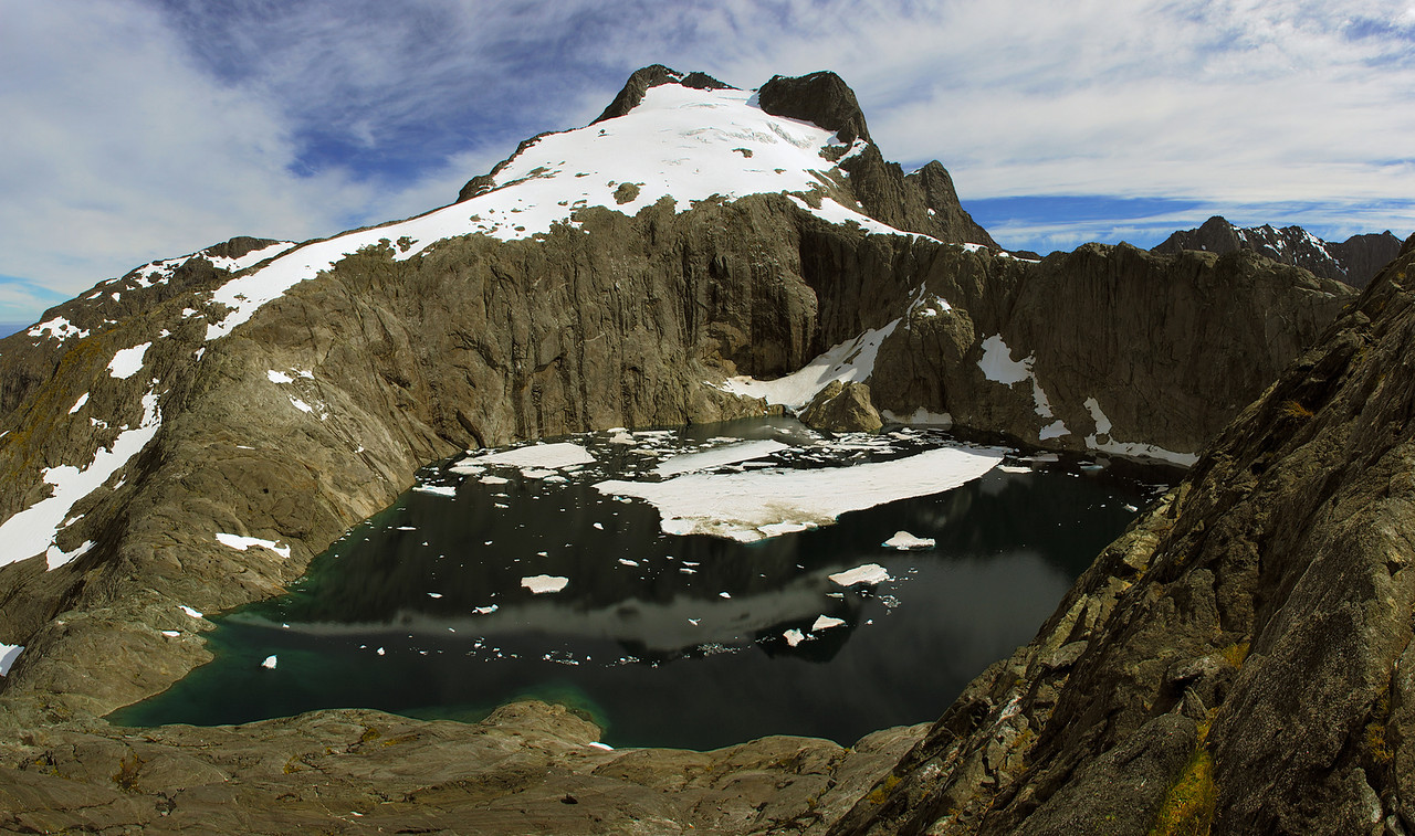 Llawrenny Peaks and Lake Terror