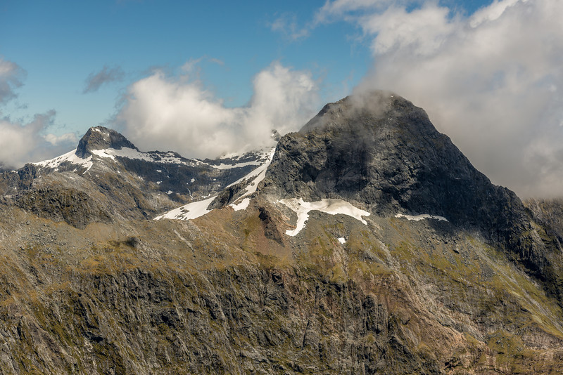 """The Lady of the Snows and Mount Danger from """"The Watchtower"""" (Pt 1674m)"""