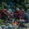 Campfire in MacKay Creek