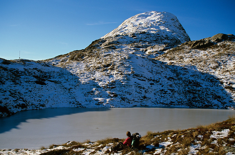 Peak 1449 above McKellar Saddle