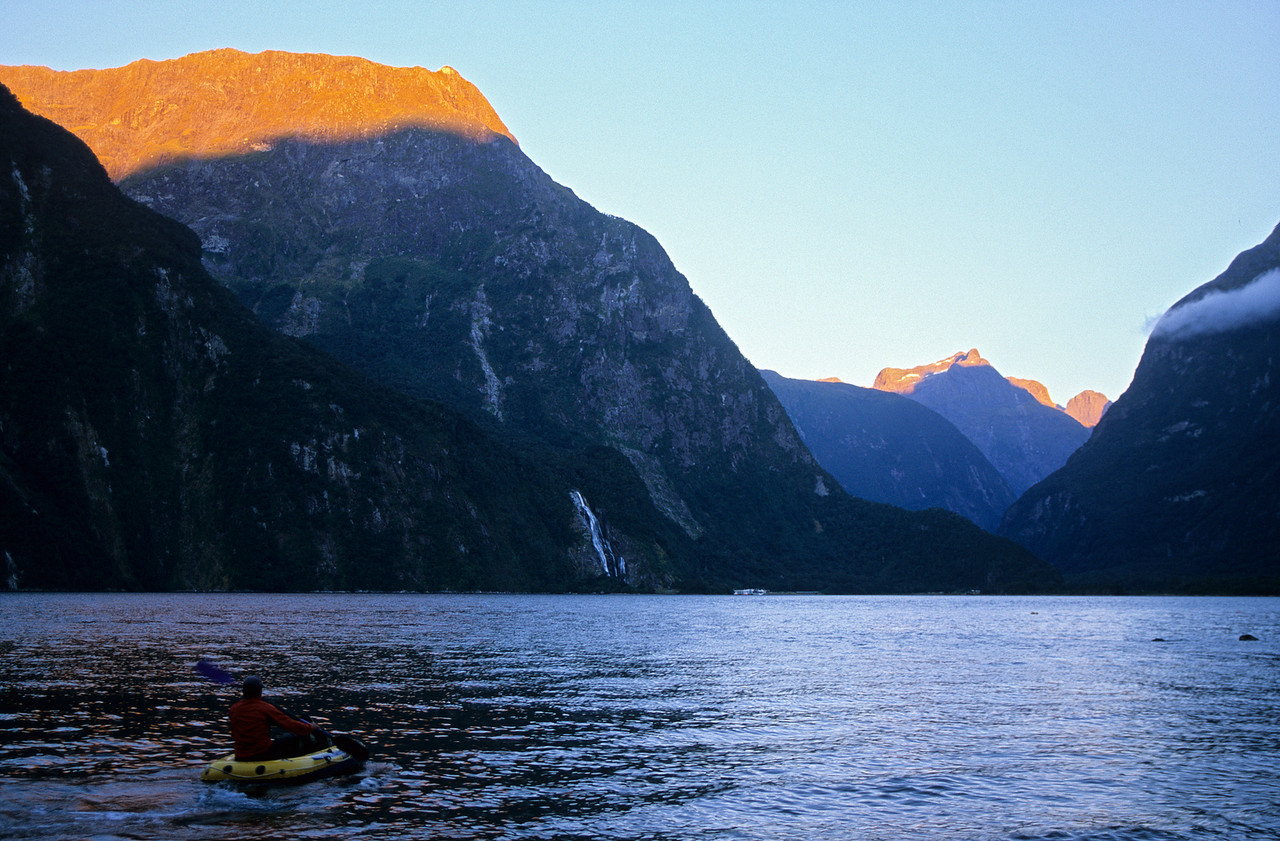 Aquanauting back into Milford Sound
