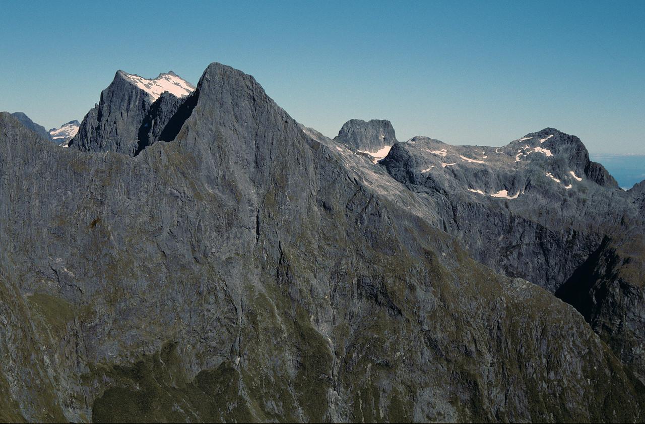 The Llawrenny Peaks