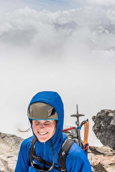 On the West Peak of Mount Crosscut