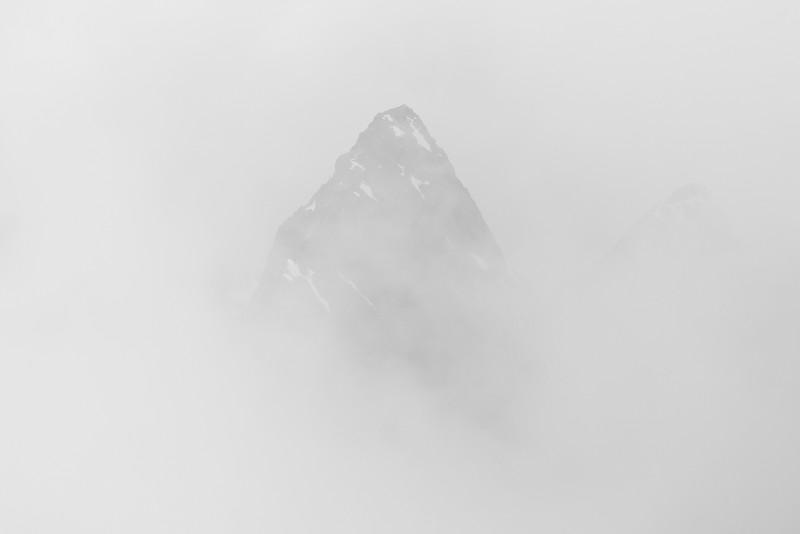 Sabre Peak's ghost