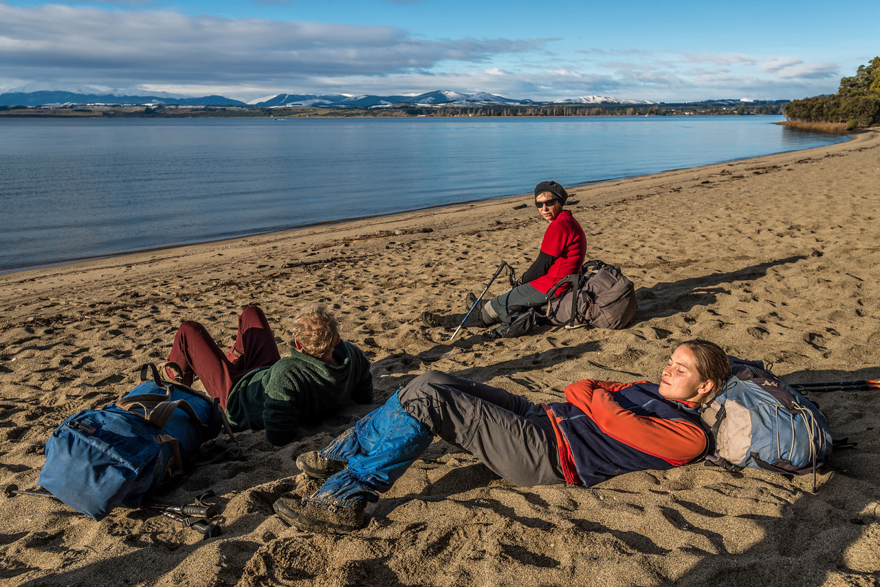 Beach at Brod Bay, Lake Te Anau