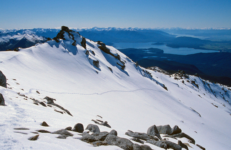 Mt Titiroa north ridge