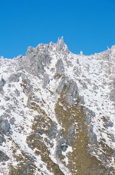 Mt Titiroa south ridge