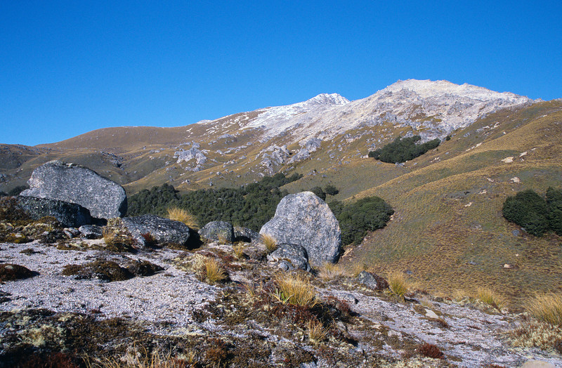 Mt Titiroa from the north