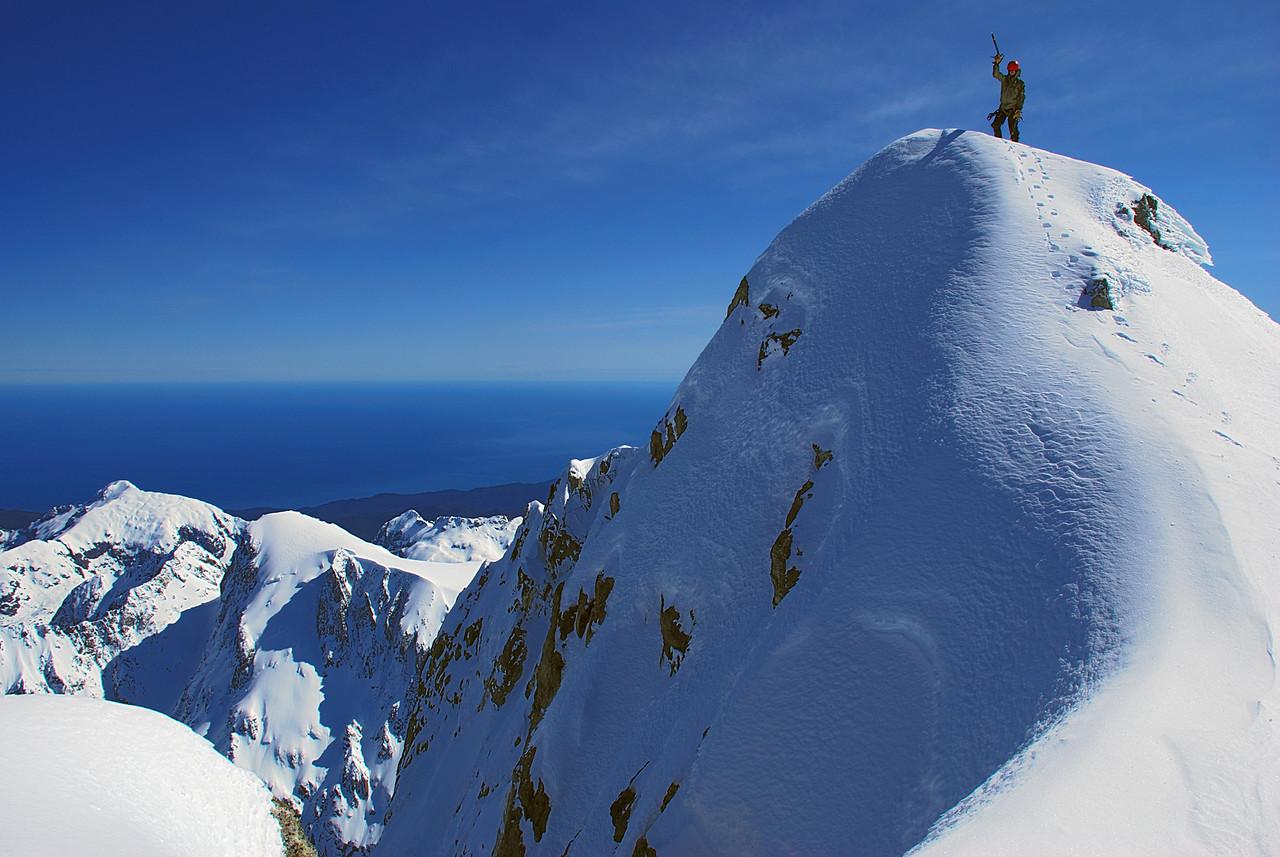 On Fiordland's highest point