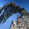 Tiff and the North Peak of Christina