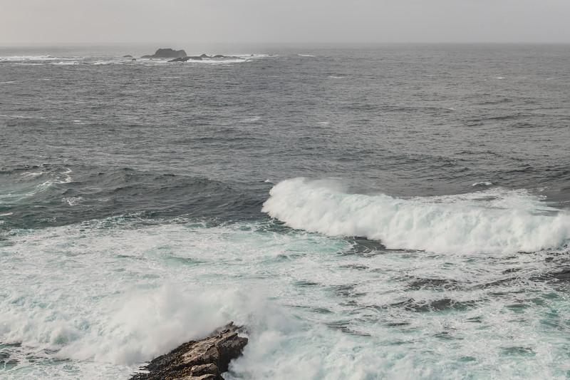 Rough seas at Puysegur Point