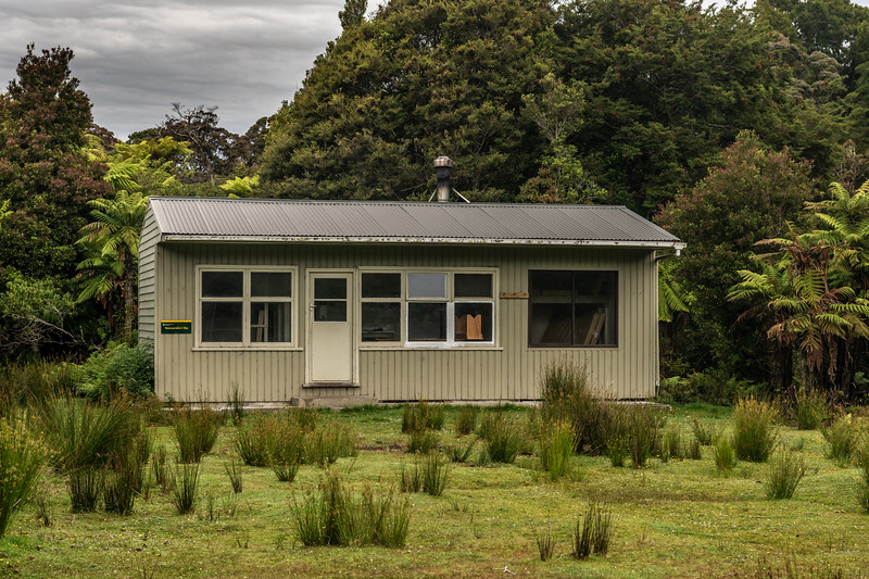 Wairaurahiri Hut. South Coast Track, Fiordland National Park.