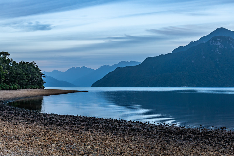 Lady Bay, Long Sound, Fiordland National Park.