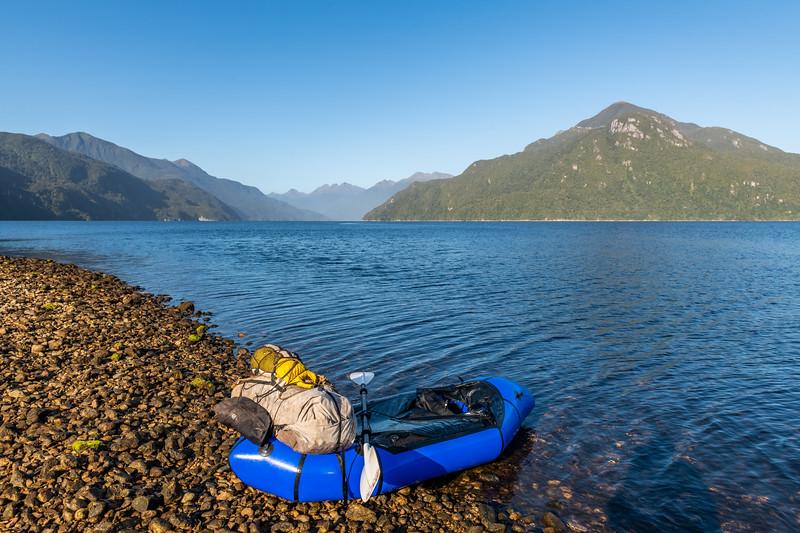 Lady Bay, Long Sound, Fiordland National Park.