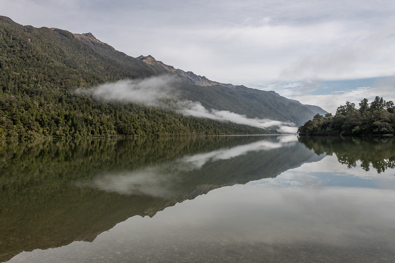 Lake Alabaster and Skippers Range. Fiordland National Park.