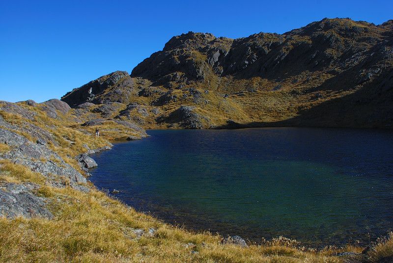 The small lake at the head of Sunny Creek