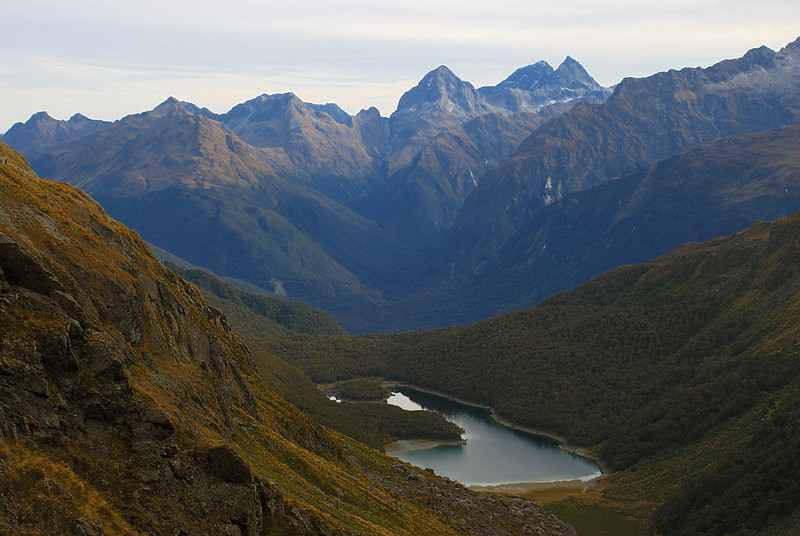Lake MacKenzie and the Earl Mountains