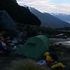 Our excellent campsite