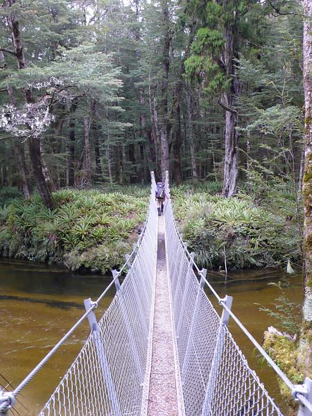 Bridge over Stinking Creek (Garnock Burn) near Hope Arm