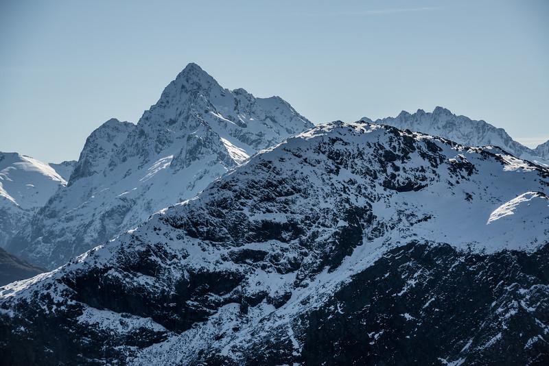 Mount Christina and Mount Crosscut, Darran Mountains
