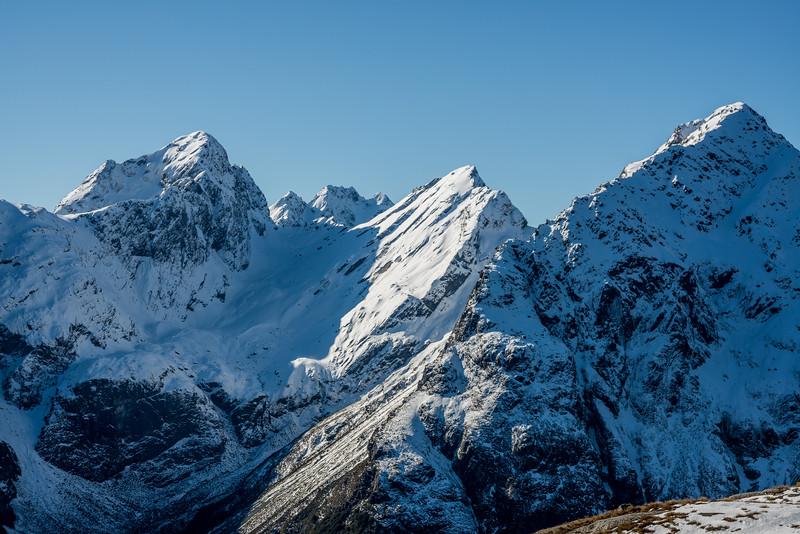 Ailsa Mountains - unnamed peaks Pt 1945m, 1930m, Pt 1786m and Pt 1760m