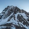 The west face of Jean Batten's east peak