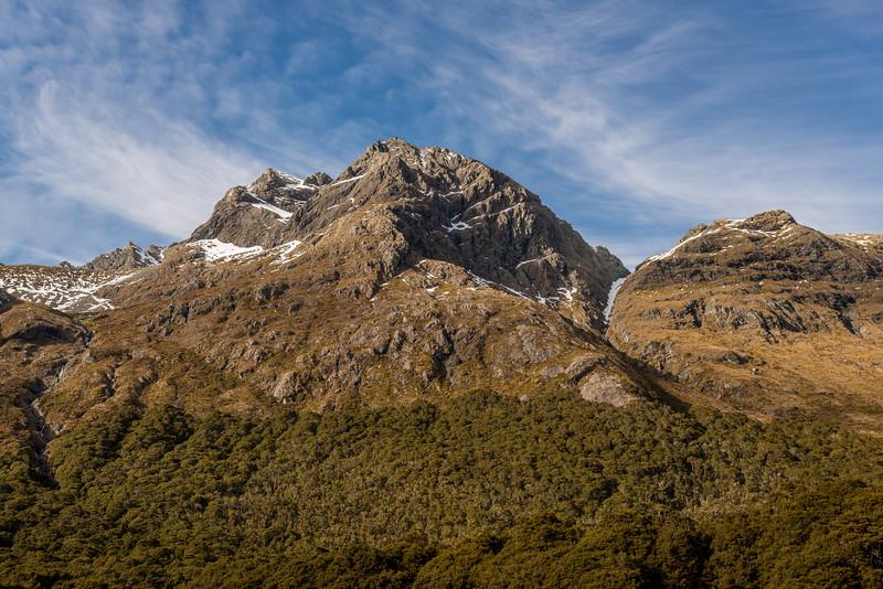 Jean Batten Peak from McKellar Saddle