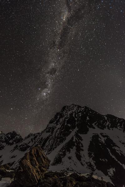 Jean Batten Peak from the east