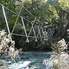 Eglinton River 3-wire bridge