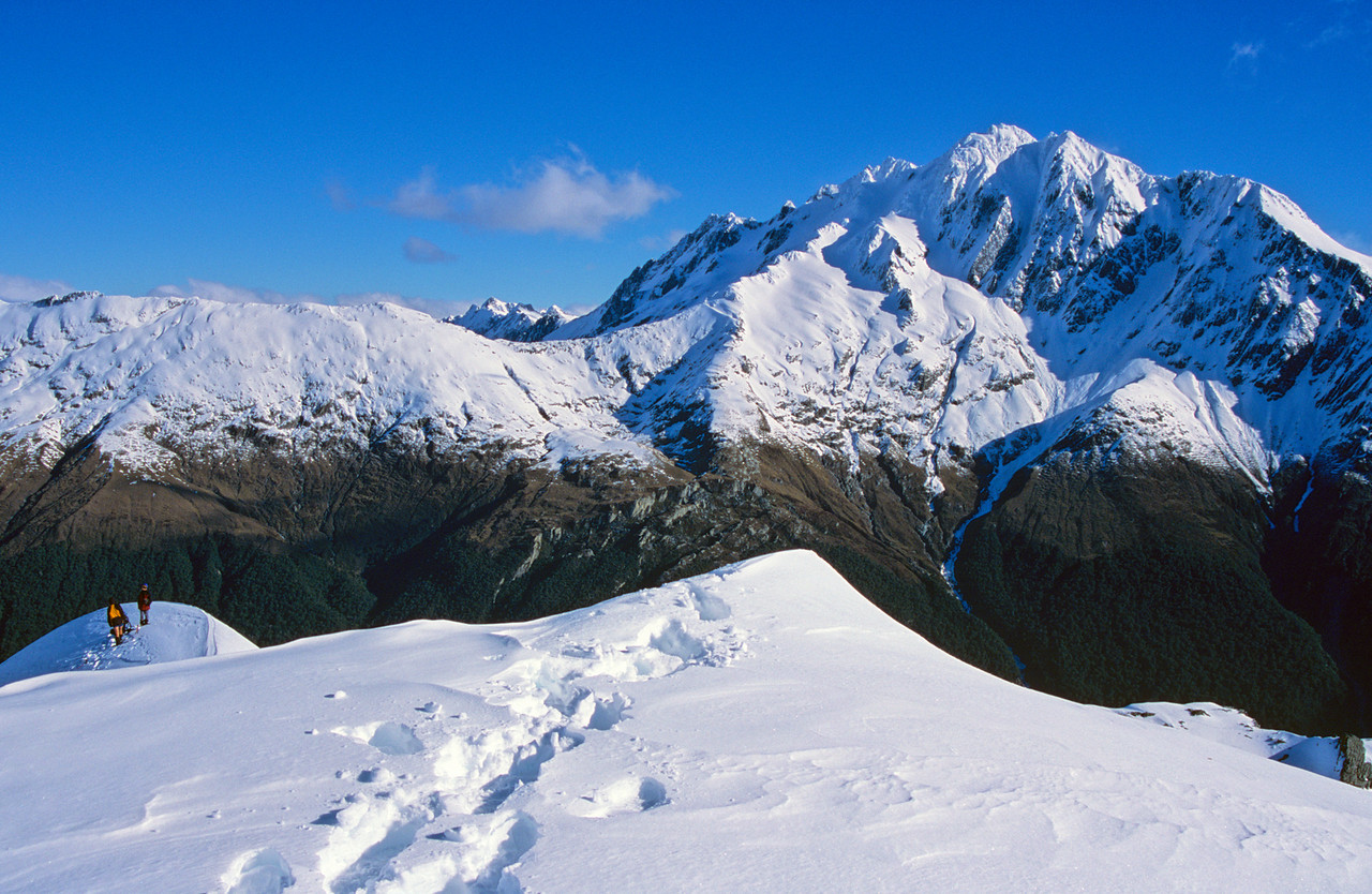 Mt Brewster from Mt Ramsay