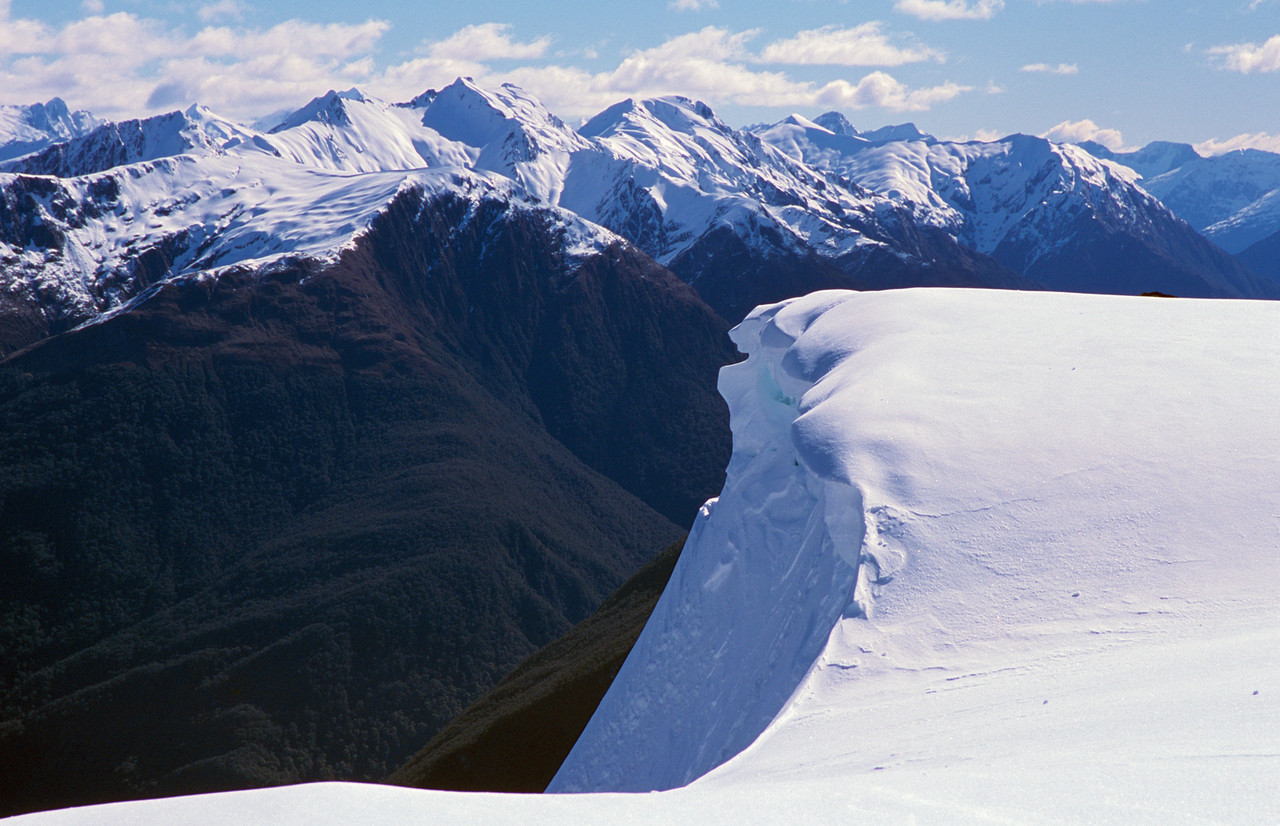 Below Mt Ramsay