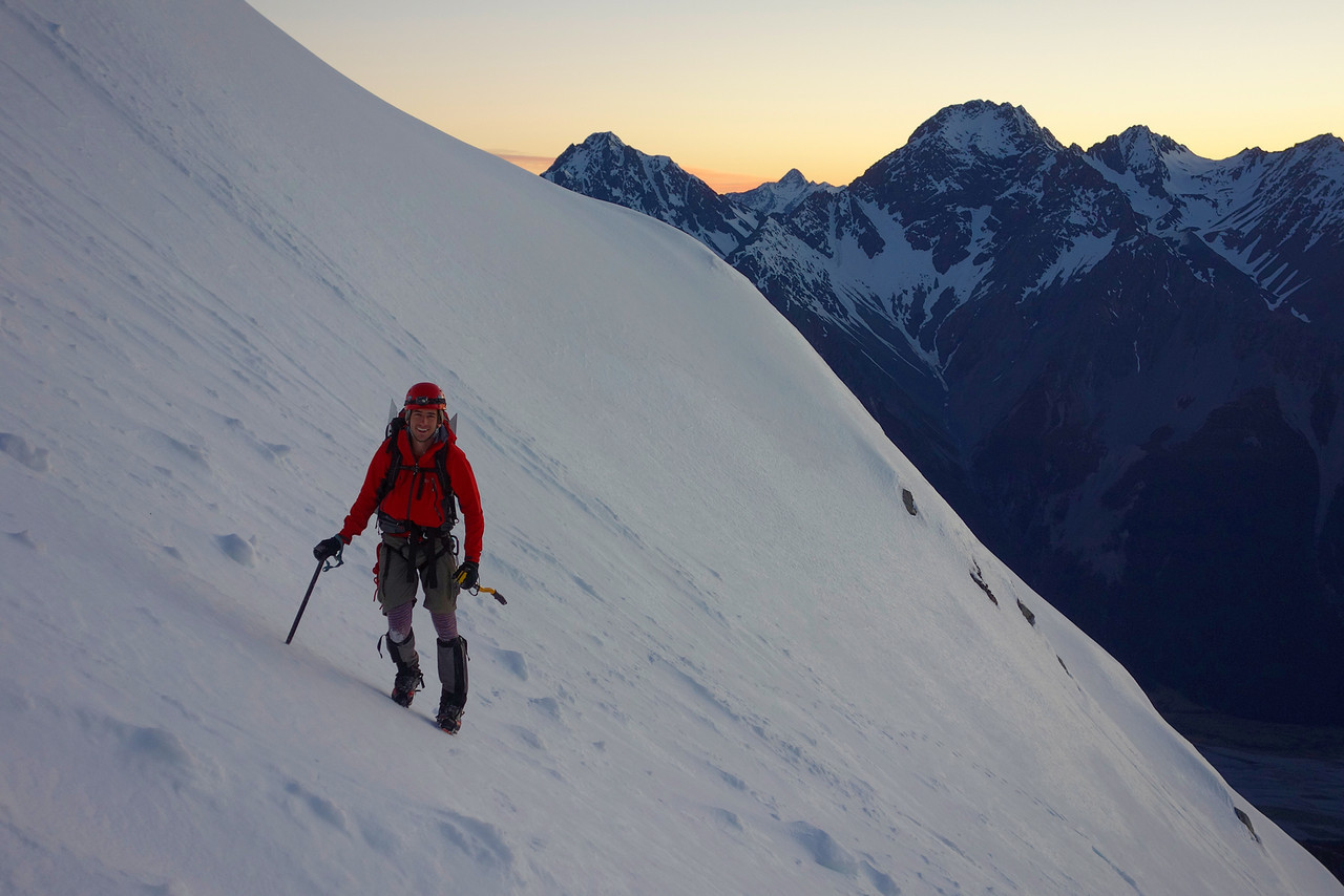 At first light on the Blair Glacier