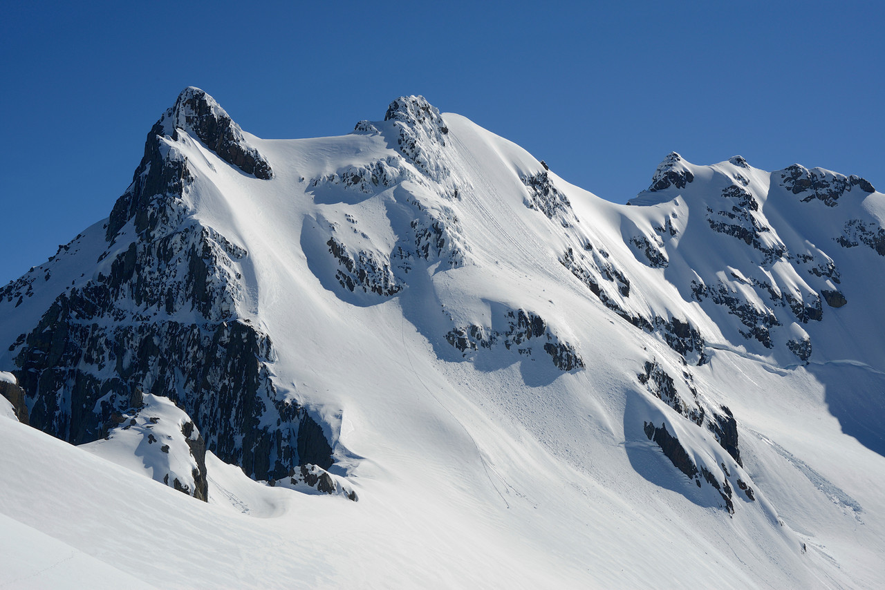 Mount Barth from the Thurneysen Glacier