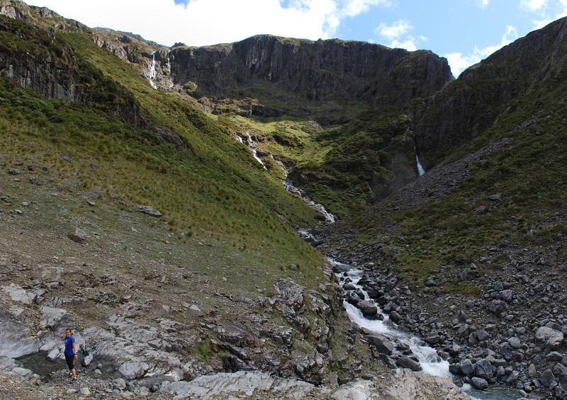Canyon Creek - above the canyon