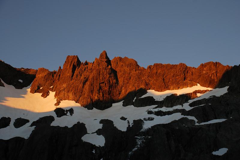 Mt Heim south east ridge