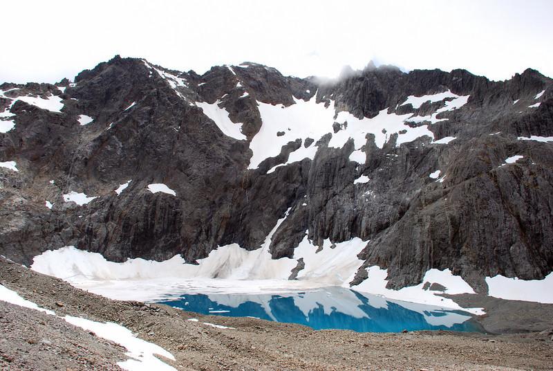 The lake in Canyon Creek