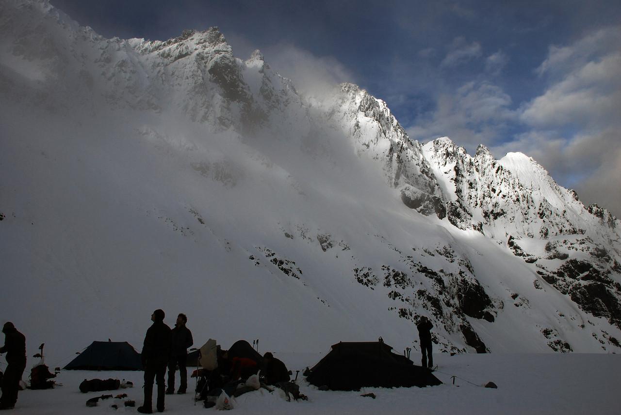 Campsite under Highlander Peak
