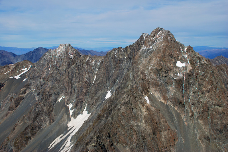 Ben Ross and Mt Glenmary from Mt Glencairn