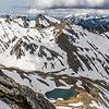 McKerrow Range tops north of Mount Shrimpton. Pt 2016m is just left of centre image.